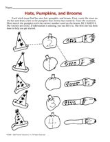 In this Halloween math activity, children will practice writing numbers and then match each one to the correct word. http://www.teachervision.fen.com/halloween/printable/52180.html #numbers #Halloween #counting