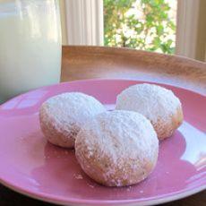 Rena Carasso's Kourabiedes - Greek Butter Cookies
