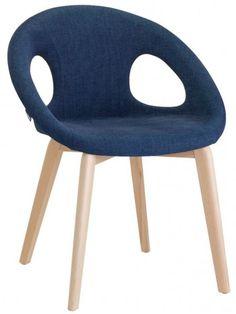 Meravigliosa sedia che si inserisce perfettamente in ogni contesto casa o contract. Moderna e di design, arreda con gusto ricercato. Molto confortevole con la sua linea semplice e armoniosa, per dare un tocco di eleganza e personalità nell'ambiente dove la si colloca. La scocca imbottita in tessuto caratterizza queste sedie per ampiezza e comodità, rendendole irresistibilmente piacevoli.