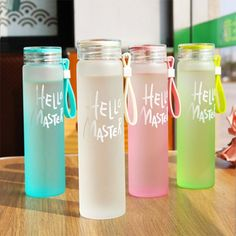Glass Gradient Beer Mug Straight Cup Couple Milk Juice Glass Whiskey Goblet Coffee Champagne Cup Simple Portable Double Glass - Drinkware - Tea Glasses Drinking Water Bottle, Cute Water Bottles, Drinking Fountain, Glass Water Bottle, Glass Bottles, Drink Bottles, Bottle Bottle, Plastic Bottle, Food Storage Boxes
