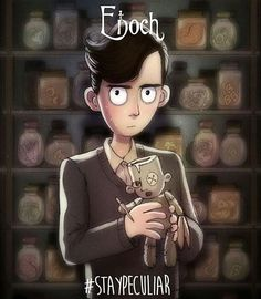 Enoch O'Connor./miss peregrine's home for peculiar children ♡