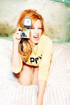 Kylie Minogue for Stylist Magazine by Ellen Von Unwerth