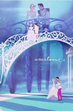 They lived happily ever after.. after he found her again. #Cinderella #Disney