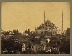 Fatih Camii 1888-1910 yılları - Fatih Mosque, Istanbul -