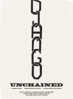Alternative Movie Poster for Django Unchained by Aron Jones