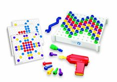 Amazon.com : Educational Insights Design & Drill : Early Development Activity Centers : Toys & Games