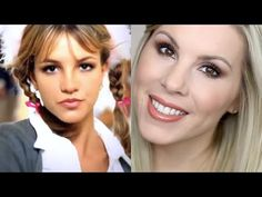 GRWM | Britney Spears 90's Inspired Makeup Tutorial VIA Julie Dawn Olsen on Youtube