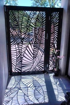 carport with laser cut screening - Google Search