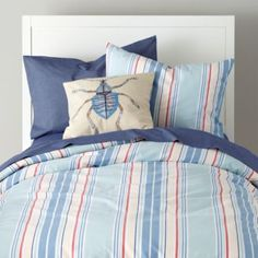 Lake House Duvet Cover  | Crate and Barrel