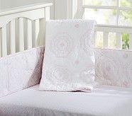 Veronica Nursery Quilt, Pink