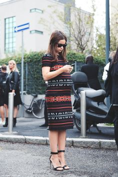 maternity sweater dress look