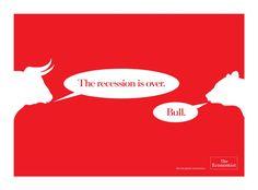 The Economist: Bull | Ads of the World™