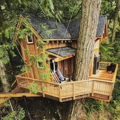TREE HOUSE WITH NICE BALCONY,,,