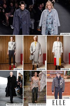 We first noticed the appearance of male models on they runways of NYC at Harbison and Proenza Schouler. It's not exactly a trend you can wear yourself, but it is cool: Designers are giving new meaning to the concept of androgyny by giving men a place in the women's runway shows. While the world was shocked to see the return of Zoolander and Hansel at Valentino, we think their epic walk-off was not the first or the last we will see of this burgeoning trend.   - ELLE.com