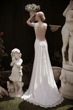 HARMONY BACK This #stunning #weddingdress is by #NaamaAnat Israeli #hautecouture #designers. Available in the UK CYPRUS GREECE ITALY at #bridal boutique #designer weekend. #bride #bridetobe #bridetobelux #engaged #lacedress #lace #Israeli #weddinggown #weddinginspiration #destinationwedding #instafashion #bridal #designerdress #designerweekend http://naamanatbridal.com/