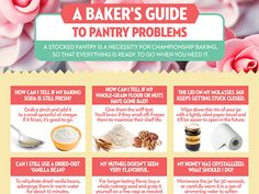 A Bakers Guide to Pantry Problems [INFOGRAPHIC] — Spring Baking Championship