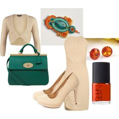 boho at work by galeriamagia on Polyvore featuring moda, Morgan, Charlotte Russe, Mulberry and NARS Cosmetics