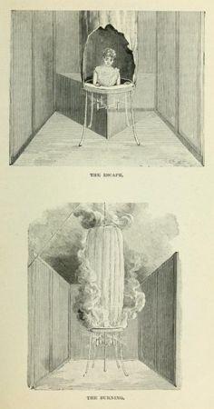 Illustrations dun livre de magie Victorien en 1897 illustration magie 1897 03 367x700