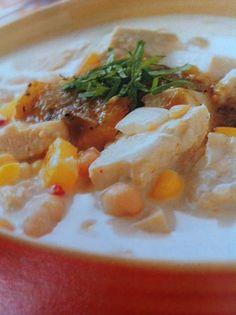 Easy crockpot recipes: White Chili Crockpot Recipe