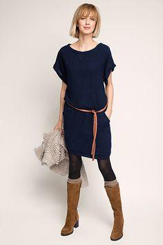 Esprit / Robe tunique en laine mélangée