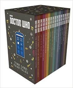 Amazon.com: Doctor Who: Time Lord Fairy Tales Slipcase (9781405928519): Various: Books