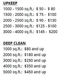 Deep Cleaning House List Bathroom Cleaning Supplies List Deep Cleaning Services Whole House Deep Cleaning List House Cleaning Prices, Cleaning Services Prices, Cleaning Services Company, House Cleaning Checklist, Business Cleaning Services, Cleaning Service Flyer, Cleaning Contracts, Cleaning Business Cards, Cleaning Flyers