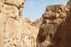 Spectacular hike in The Canyon Egypt