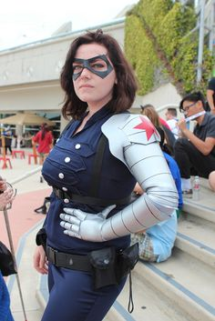 i really want to cosplay as my favorite comic book character, the Winter Soldier!!
