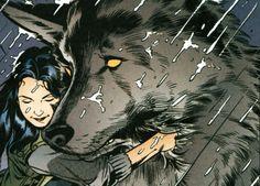 snow white & bigby wolf