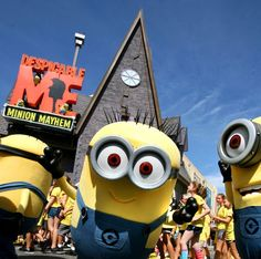 Pictures: Despicable Me Minion Mayhem grand opening at Universal Orlando