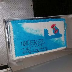 #Troggg cake at #Injune, September 2014.