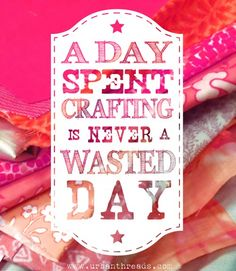 Never a wasted day