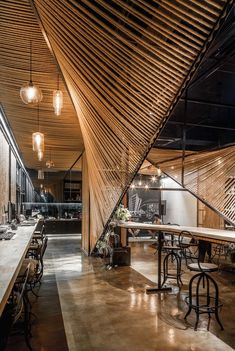 Rope Wave Office | Usual Studio; Photo: Tim Wu | Archinect