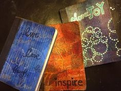 Use Those Gelli Prints- Mini Composition Books- Gift Idea - YouTube