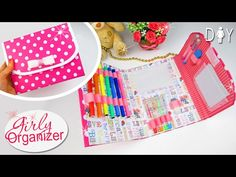 DIY Cute Sticky Notes Dashboard For Kikki-k/Filofax - Pimp my Planner ♥ - YouTube