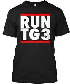"""Front .... .A fun twist on the popular """"RUN DMC"""" shirts,we've changed it to focus on one of our all-time favorite backs. TODD GURLEY #3!!!!"""