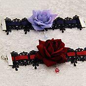 Handmade Black Lace Gothic Lolita Bracelet (2... – USD $ 9.99