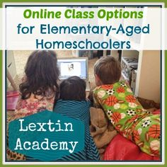 Lextin Academy of Classical Education: Online Classes for Homeschoolers