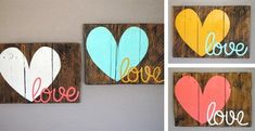 Love Pallet Signs | Jane  @Kelsy Compton s let's make one of these!: