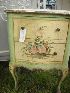 painted vintage French furniture