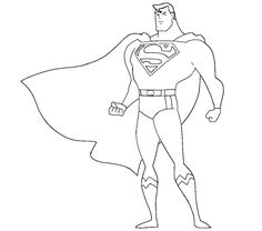 superman coloring pages - Superman Coloring Pages Kids