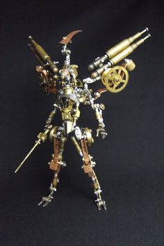 Metal sculptures by Daisuke Shimodaira