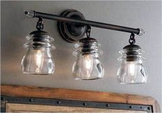 Remodeling Kitchen Lighting 41 Adorable Farmhouse Bathroom Lighting 82 Spacious Bathroom Lighting Captivating Farmhouse Light Fixtures Black 9 - 41 Adorable Farmhouse Bathroom Lighting That Will Make Your Bathroom Stunning Farmhouse Bathroom Light, Farmhouse Vanity Lights, Rustic Bathroom Lighting, Farmhouse Light Fixtures, Vanity Light Fixtures, Rustic Bathroom Vanities, Rustic Bathrooms, Farmhouse Lighting, Rustic Lighting
