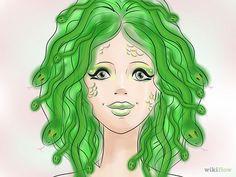 4 Ways to Make a Medusa Costume - wikiHow