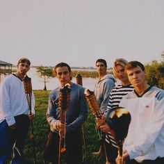 BSB in 1998 doesn't it look like they are in mama and papas backyard?