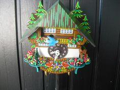 Black Forest clock handmade clock mechanical by mytreasures4u