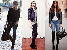 Toda Charmosa: Inspiração Fashion   Over The Knee Boots (Cuissardes)
