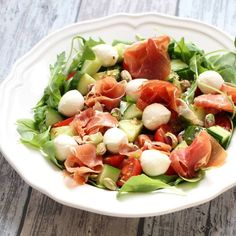 Easy Smoothie Recipes, Easy Smoothies, Good Healthy Recipes, Salad Recipes, Healthy Snacks, Coconut Recipes, Fabulous Foods, Italian Recipes, Good Food