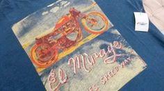 LUCKY BRAND Men T Shirt L 100%  Cotton Blue Multicolor  Short Sleeve EL MIRAGE #LuckyBrandAuthentic #GraphicTee