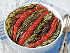Ratatouille Tian from 'The French Market Cookbook' #recipe